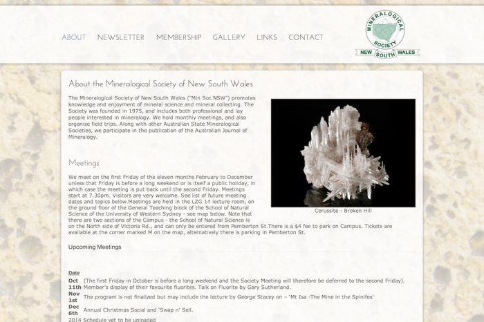 Mineralogical Society of NSW